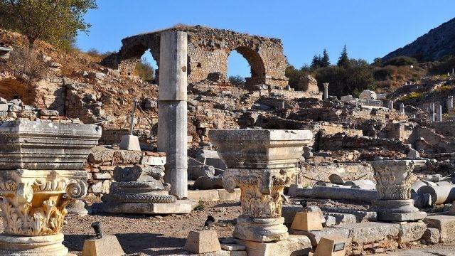 Руины римского города