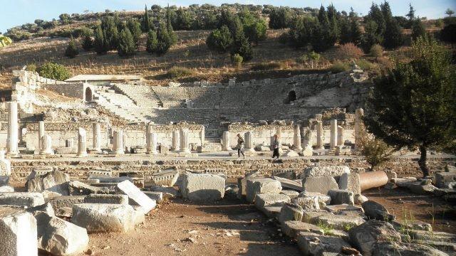 Сооружение в древнем Эфесе