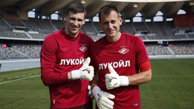 Артём Ребров и Сергей Песьяков