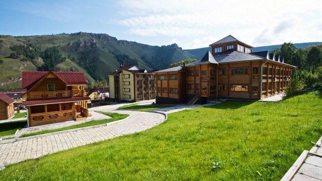 Спа-отель Такмак для комфортного отдыха в Красноярском заповеднике