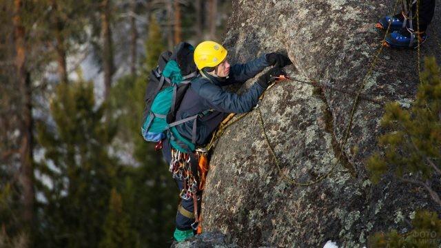 Столбисты - негласная школа альпинизма в реальных условиях