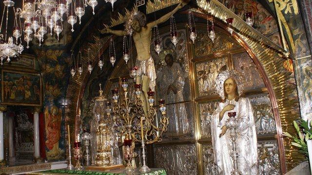Голгофа в Храме Вознесения