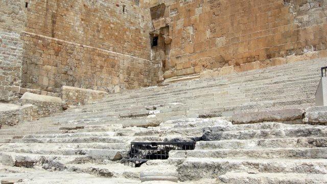 Южные ступени Храмовой горы