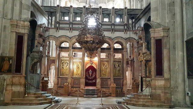 Кафоликон в храме Гроба Господня