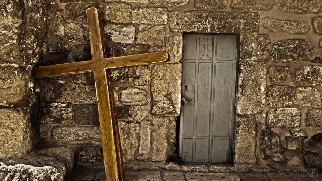 Крест паломника в Иерусалиме