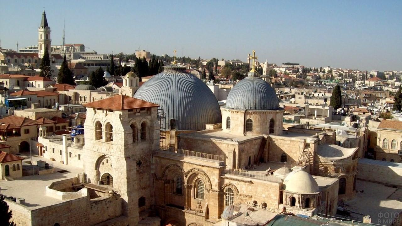 Вид на храм Гроба Господня