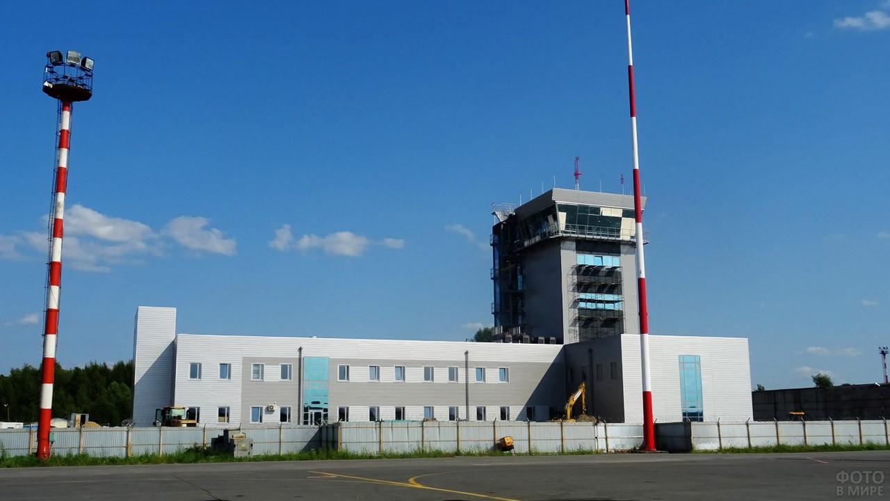 КДП аэродрома Стригино в Нижнем Новгороде