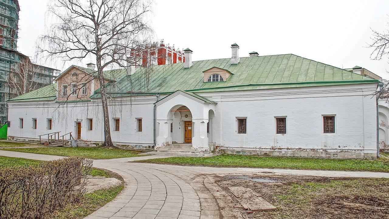 Больничные палаты монастыря