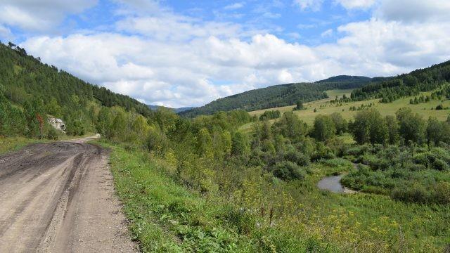 Дорога в Горном Алтае