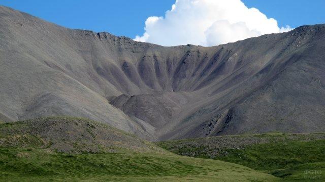 Гора на плато Укок