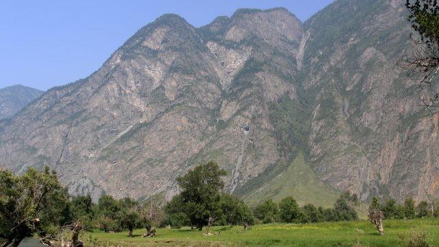 Горы долины Чулышман