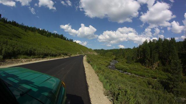 Новая дорога в Улаганском районе