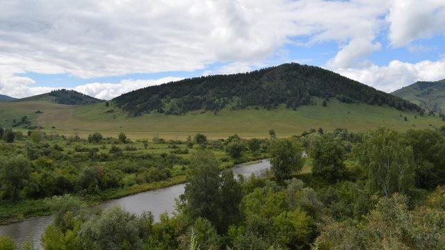 Солонешенский район река Ануй